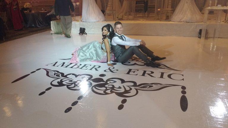 toronto dance floor wrap decor