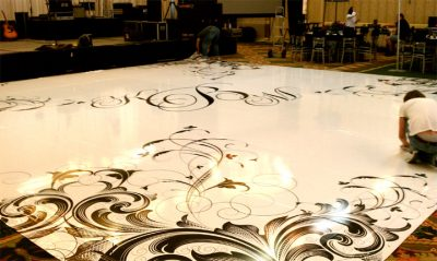Dance Floor Monogram Toronto