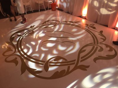 Dance Floor Monogram Vinyl Wrap